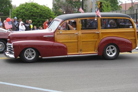 Jim's 48 chev woodie